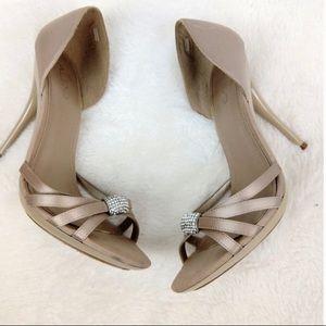 Aldo Derocco Tan Stiletto Sandals